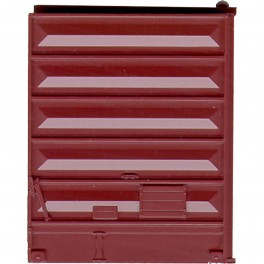 KADEE 2226 - PULLMAN STANDARD 8' DOOR WITH LOW TACKBOARD - BOXCAR RED