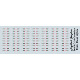 HIGHBALL ADN-34 CANADIAN LOCOMOTIVE TRIPLE CLASS LIGHTS