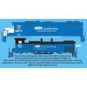 HIGHBALL L-299 GATX/GMTX LEASE DIESEL LOCOMOTIVES