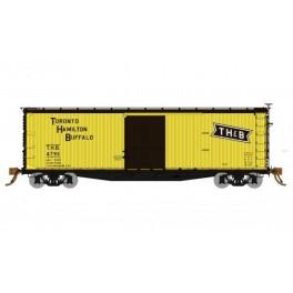 RAPIDO 130113 - USRA DOUBLE SHEATHED BOXCAR - TORONTO HAMILTON & BUFFALO
