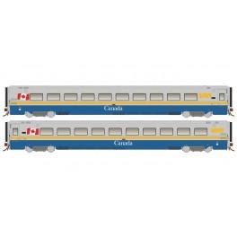 RAPIDO 108036-108039 - LRC COACH - CANADA SCHEME