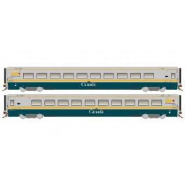 RAPIDO 108041-108044 - LRC COACH - GREEN SCHEME