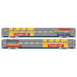 RAPIDO 108052 - LRC COACH - CANADA 150 WRAP - 3355