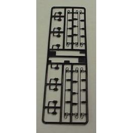 KATO 964031 - SD40-2 HT-C TRUCK DETAIL SET