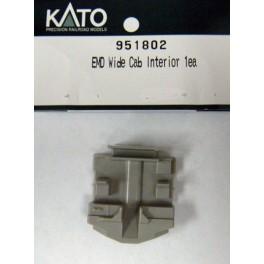 KATO 951802 - EMD WIDE CAB INTERIOR