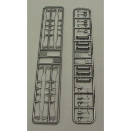 KATO 964021 - GE DASH 9 EARLY HI-AD TRUCK DETAIL SET