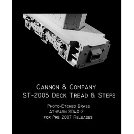 CANNON ST-2005 - SAFETY TREAD STEO KIT FOR ATHEARN SD40-2