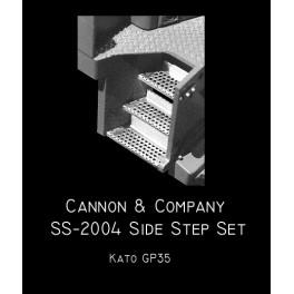 CANNON SS-2004 - EMD SIDE STEP SET - KATO GP35