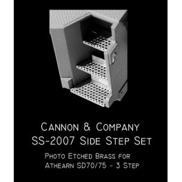 CANNON SS-2007 - EMD SIDE STEP SET - ATHEARN SD70/75 3 STEP VERSION
