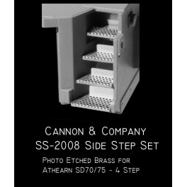 CANNON SS-2008 - EMD SIDE STEP SET - ATHEARN SD70/75 4 STEP VERSION