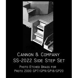 CANNON SS-2022 - EMD SIDE STEP SET - PROTO 2000 GP7/GP9/GP18/GP20