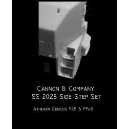CANNON SS-2028 - EMD SIDE STEP SET - ATHEARN GENESIS F45/FP45