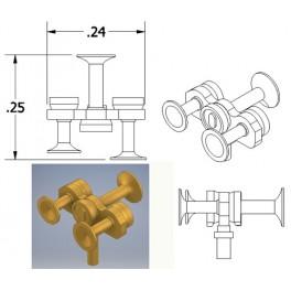 CAL-SCALE 190-671 - DIESEL LOCOMOTIVE NATHAN AIR HORN - M3R1