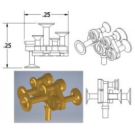 CAL-SCALE 190-674 - DIESEL LOCOMOTIVE NATHAN AIR HORN - M5R2
