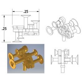 CAL-SCALE 190-675 - DIESEL LOCOMOTIVE NATHAN AIR HORN - M5R24