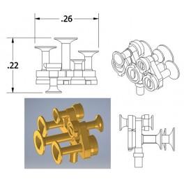 CAL-SCALE 190-676 - DIESEL LOCOMOTIVE NATHAN AIR HORN - M5R4