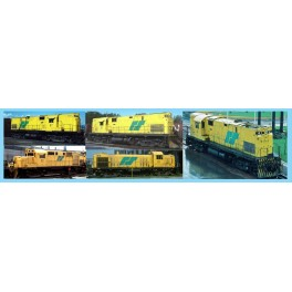 HIGHBALL L-333 ROBERVAL & SAGUENAY MLW & ALCO DIESEL LOCOMOTIVES