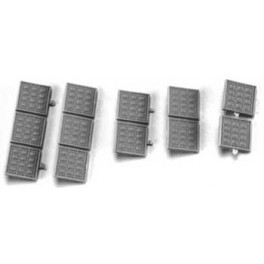 CAL-SCALE 190-751 - DIESEL LOCOMOTIVE RS3 AIR FILTER ASSORTMENT - HO SCALE