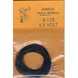 JUNECO B-128 - 1.5 VOLT BULBS - CLEAR