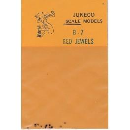 "JUNECO B-7 - 4 3/4"" JEWELS - RED"