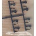 DETAIL ASSOCIATES 6638 - PASSENGER CAR WHEEL RECORDERS - DECELOSTATS - HO SCALE