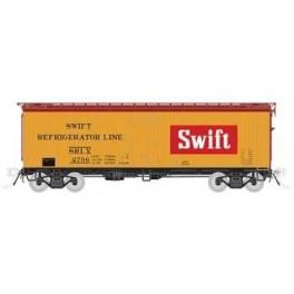 RAPIDO 121060 - GARX 37' MEAT REEFER - SWIFT - HO SCALE
