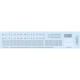 HIGHBALL L-167 RUTLAND STEAM LOCOMOTIVES - HO SCALE