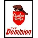 TOMAR H-165 - CANADIAN PACIFIC DOMINION TAILSIGN - HO SCALE