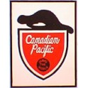 TOMAR H-162 - CANADIAN PACIFIC BEAVER SHIELD TAILSIGN - HO SCALE
