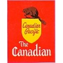 TOMAR H-166 - CANADIAN PACIFIC 1955 CANADIAN TAILSIGN - HO SCALE