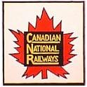 TOMAR H-150 - CANADIAN NATIONAL MAPLE LEAF TAILSIGN - HO SCALE