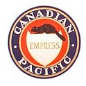 TOMAR H-169 - CANADIAN PACIFIC EMPRESS TAILSIGN - HO SCALE