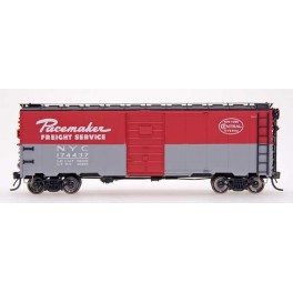 INTERMOUNTAIN 45772-05 - 10'IH POST WAR AAR 40' BOXCAR - NEW YORK CENTRAL PACEMAKER - 1945-1946 - CAR 174754 - HO SCALE