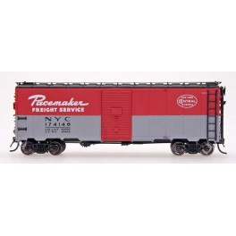 INTERMOUNTAIN 45773-02 - 10'IH POST WAR AAR 40' BOXCAR - NEW YORK CENTRAL PACEMAKER - 1948-1949 - CAR 174067 - HO SCALE