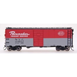 INTERMOUNTAIN 45774-03 - 10'IH POST WAR AAR 40' BOXCAR - NEW YORK CENTRAL PACEMAKER - 1948-1949 - CAR 174670 - HO SCALE