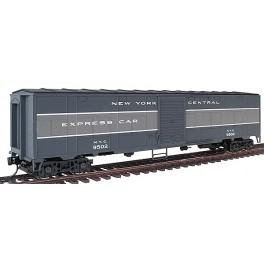 WALTHERS 932-4156 - NEW YORK CENTRAL EX-TROOP SLEEPER EXPRESS CAR 9502 - HO SCALE