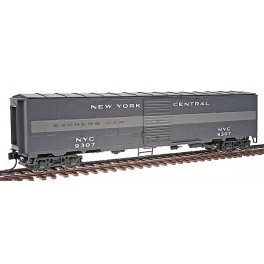 WALTHERS 932-4155 - NEW YORK CENTRAL EX-TROOP SLEEPER EXPRESS CAR 9307 - HO SCALE