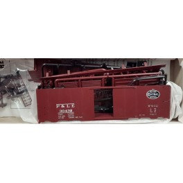 RED CABOOSE RC-8026-2h - 1937 AAR 40' BOXCAR KIT - PITTSBURGH & LAKE ERIE  30432 - HO SCALE
