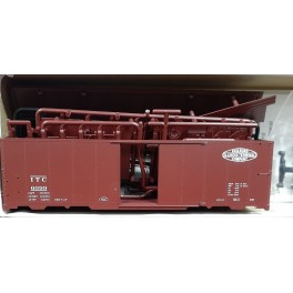 RED CABOOSE RC-8047-4 - 1937 AAR 40' BOXCAR KIT - ILLINOIS TERMINAL 6099 - HO SCALE