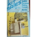 LIMITED EDITIONS 946 - FORWARD RIDING COMPARTMENT - HO SCALE