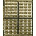 CNRHA - 200-1-3 - CANADIAN NATIONAL STEAM LOCOMOTIVE NUMBER PLATES 1427-2189