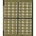 CNRHA - 200-1-2 - CANADIAN NATIONAL STEAM LOCOMOTIVE NUMBER PLATES 1008-1407