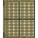 CNRHA - 200-1-4 - CANADIAN NATIONAL STEAM LOCOMOTIVE NUMBER PLATES 2344-2685