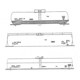 ISP 100-205 - TANK CARS FOR UBBER & PLASTIC INDUSTRIES