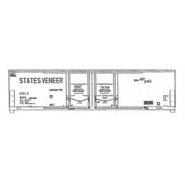ISP 210-008 - STATES VENEER 52' DOUBLE DOOR BOXCAR