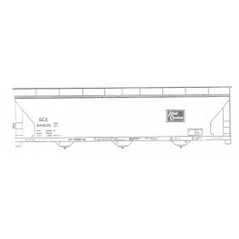 ISP 230-001 - ALLIED CHEMICAL 3 BAY COVERED HOPPER