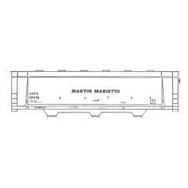 ISP 230-018 - MARTIN MARIETTA 3 BAY COVERED HOPPER
