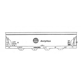 ISP 230-042 - ICI ACRYLICS 4 BAY COVERED HOPPER