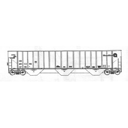 ISP 330-052 - CONRAIL 3 BAY COVERED HOPPER