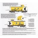 HIGHBALL FN-283 CANADIAN PACIFIC CABOOSE - N SCALE